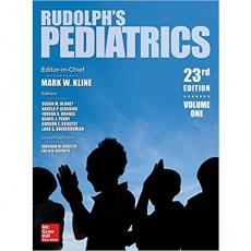 Rudolph's Pediatrics 23th Edition(Rudolph儿科学 第23版)