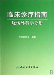 临床诊疗指南:烧伤外科学分册 中华医学会 2007年