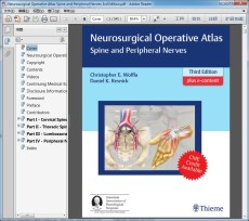 Neurosurgical Operative Atlas Spine and Peripheral Nerves 3rd Edition