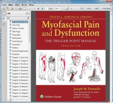Myofascial Pain and Dysfunction - The Trigger Point Manual 3rd Edition