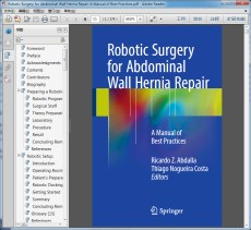 Robotic Surgery for Abdominal Wall Hernia Repair-A Manual of Best Practices