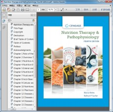 Nutrition Therapy and Pathophysiology Fourth Edition(营养疗法和病理生理学 第4版)