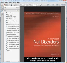 A Text Atlas of Nail Disorders _Techniques in Investigation and Diagnosis 3rd Edition
