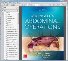 "Maingot""s Abdominal Operations 13th Edition(Maingot腹部手术学 第13版)"