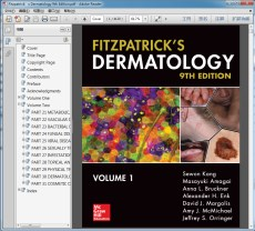 Fitzpatrick's Dermatology 9th Edition(Fitzpatrick皮肤病学第九版)