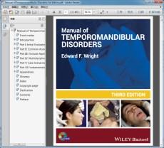 Manual of Temporomandibular Disorders 3rd Edition(颞下颌关节紊乱病手册 第三版)