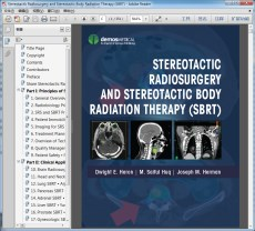 Stereotactic Radiosurgery and Stereotactic Body Radiation Therapy(立体定向体放射治疗)
