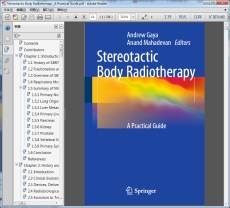 Stereotactic Body Radiotherapy _A Practical Guide(立体定向体放射治疗的实用指南)