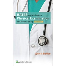 "Bates"" Pocket Guide to Physical Examination and History Taking 8th Edition(贝茨体格检查及病史采集口袋指南 第8版)"