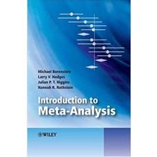Introduction to Meta-Analysis(分析概论荟萃)