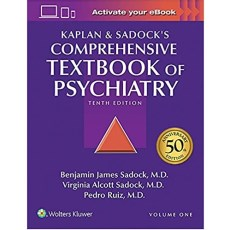 Kaplan and Sadock's Comprehensive Textbook of Psychiatry 10th Edition(精神病学综合教科书 第10版)