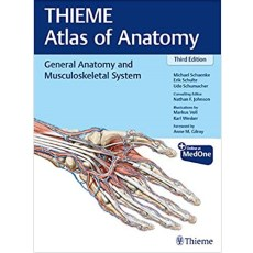 General Anatomy and Musculoskeletal System (THIEME Atlas of Anatomy) 3rd Edition(普通解剖学与肌肉骨骼系统)