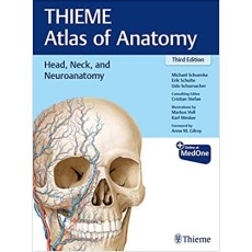 Head, Neck, and Neuroanatomy (THIEME Atlas of Anatomy) 3rd Edition(头部,颈部和神经解剖学)